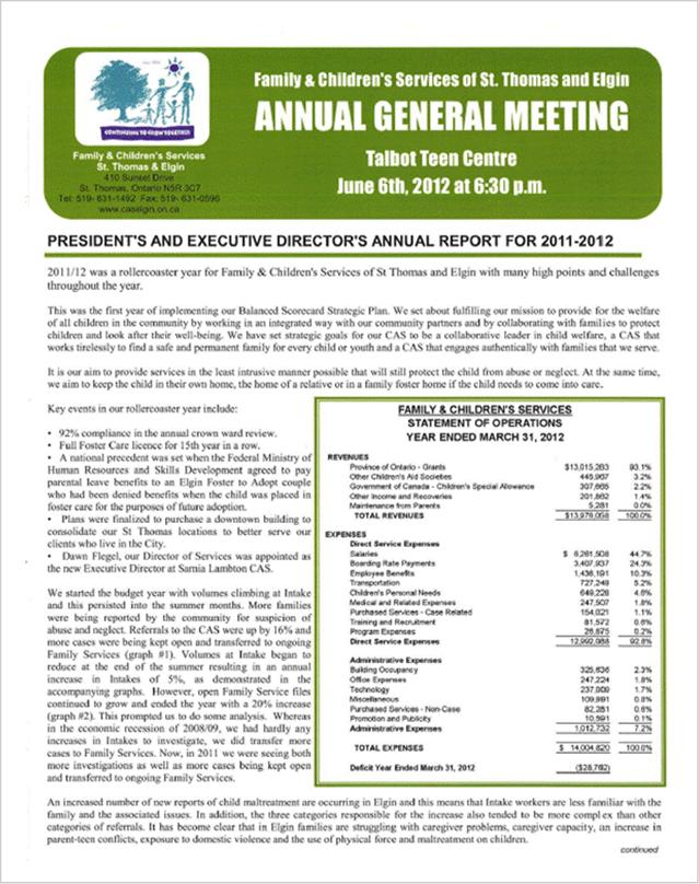 Annual General Meeting 2011-2012
